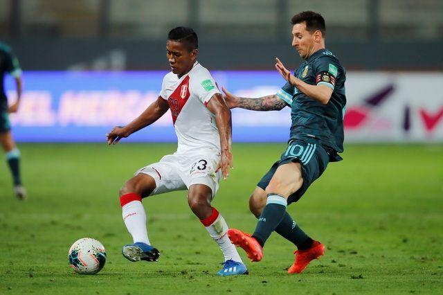Messi dù không ghi bàn nhưng để lại nhiều ấn tượng trong trận thắng của Argentina trước Peru