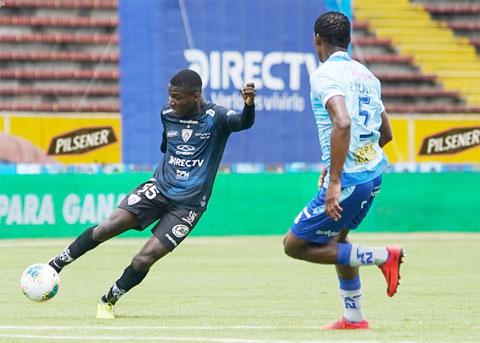 Caicedo đang là viên ngọc của CLB Independiente và ĐT Ecuador